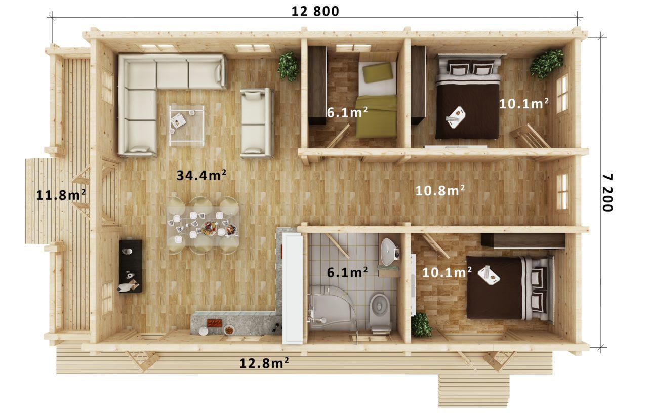 Floor Plan - CASSANDRA