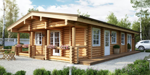 Timber Log Cabin, Granny Flat, CARMEN