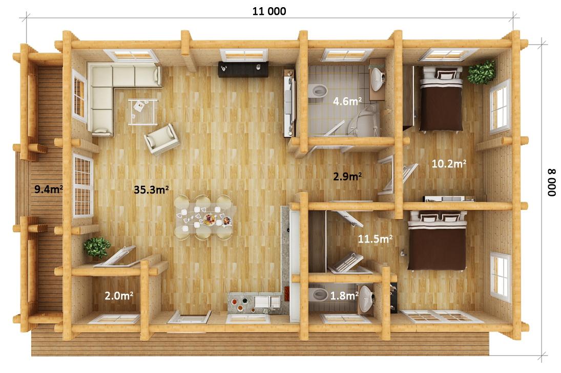 Floor Plan - CARMEN