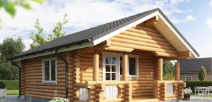 Timber Log Cabin, Granny Flat, Cheshire