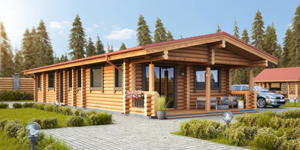 Timber Log Cabin, Granny Flat, DIANE
