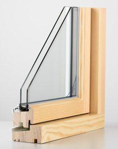 Double Glazed Timber Frame Window