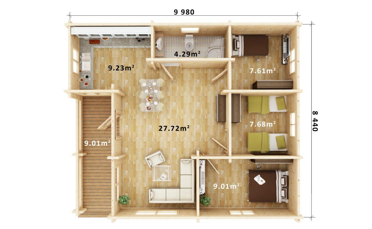 Floor Plan - FELMOOR