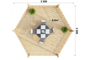 Gazebo 3 - Floorplan