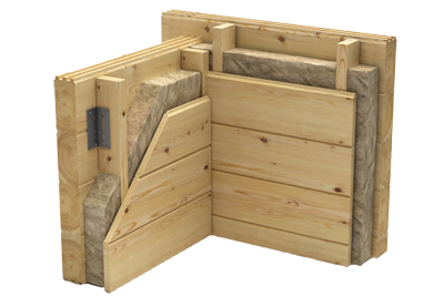 Timber Log Buildings Australia, Thermal Insulation, Wall Cavity