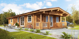Timber Log Cabin, Granny Flat, KATRINA