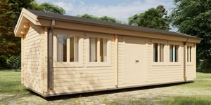 Timber Log Cabin, Granny Flat, Skid Cabin TORSTEN