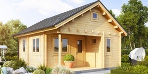 Timber Log Cabin, Granny Flat, SMITH