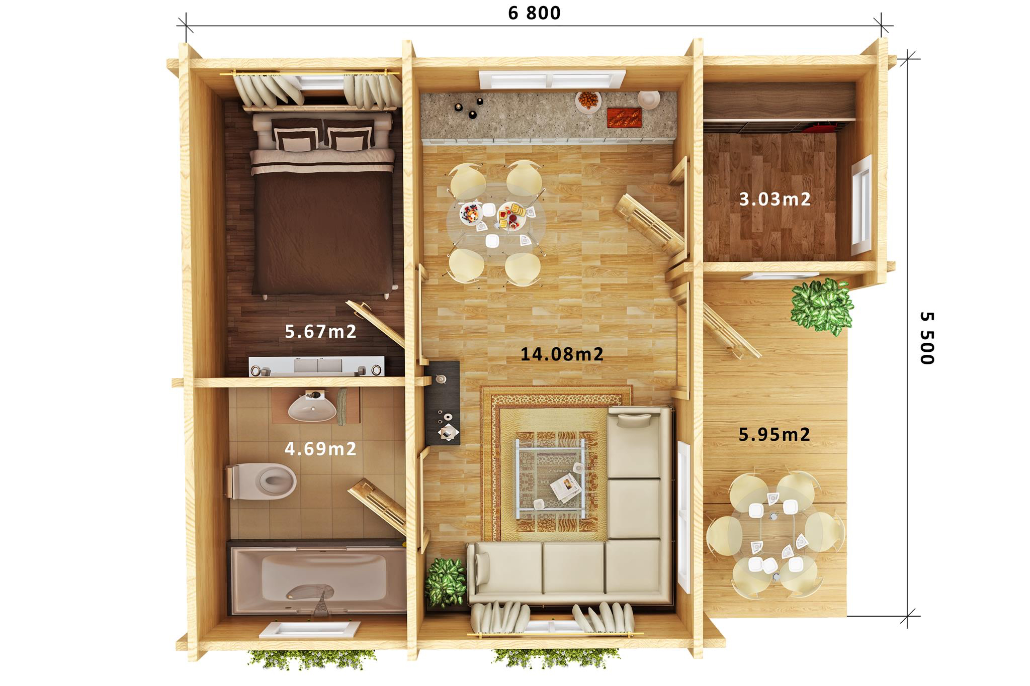 Floor Plan SMITH