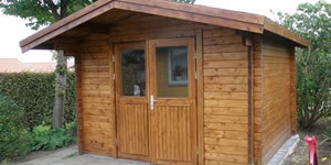 Timber Log Cabin, Granny Flat, Sammy